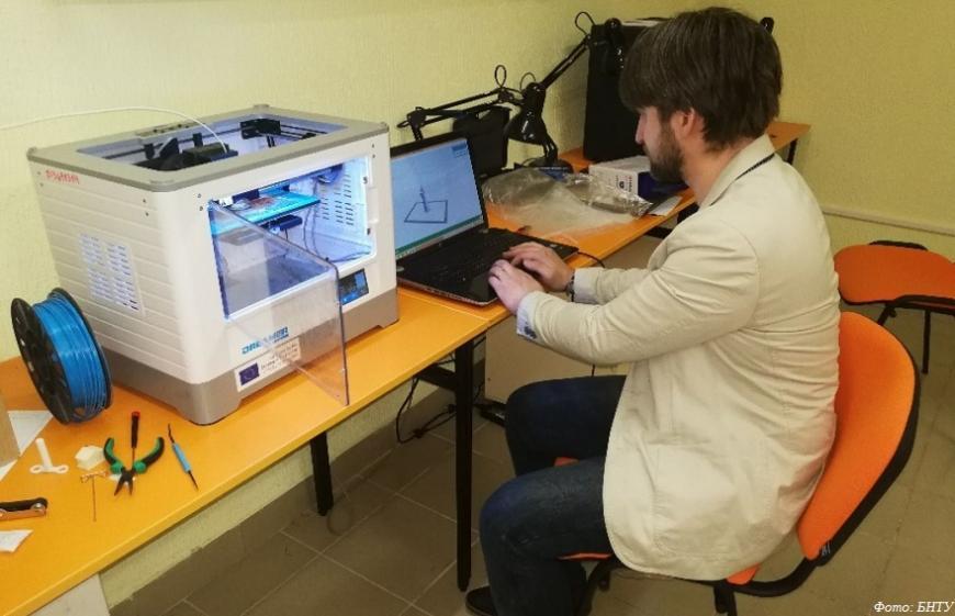Минские политехники готовят 3D-печатные детали для аппаратов ИВЛ