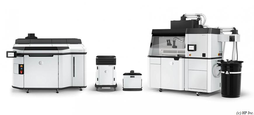HP предлагает полипропиленовый порошок для MJF 3D-принтеров