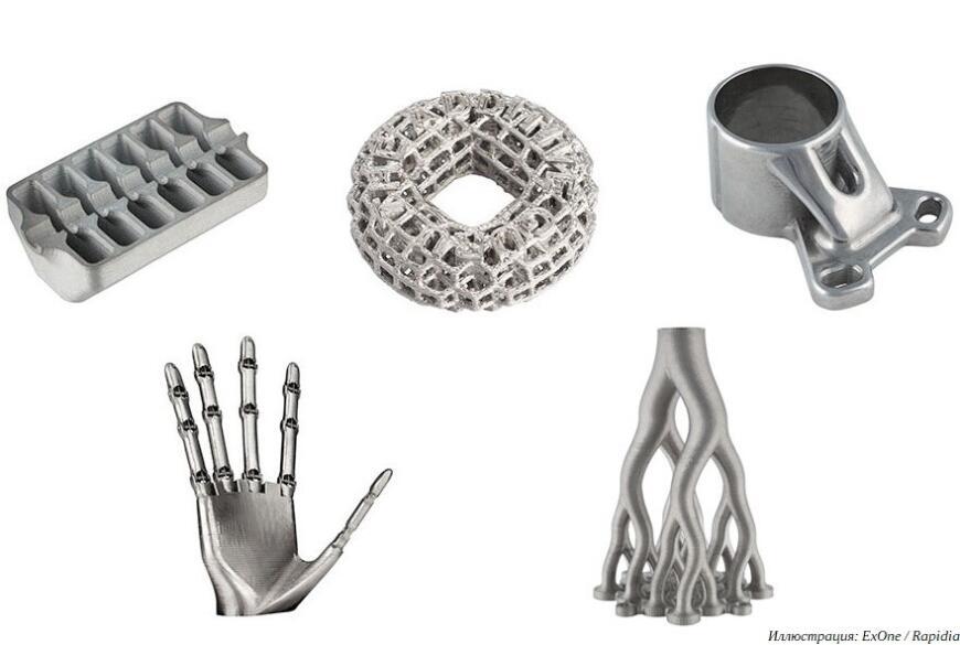 ExOne анонсировала «офисный» 3D-принтер для печати металлами и керамикой