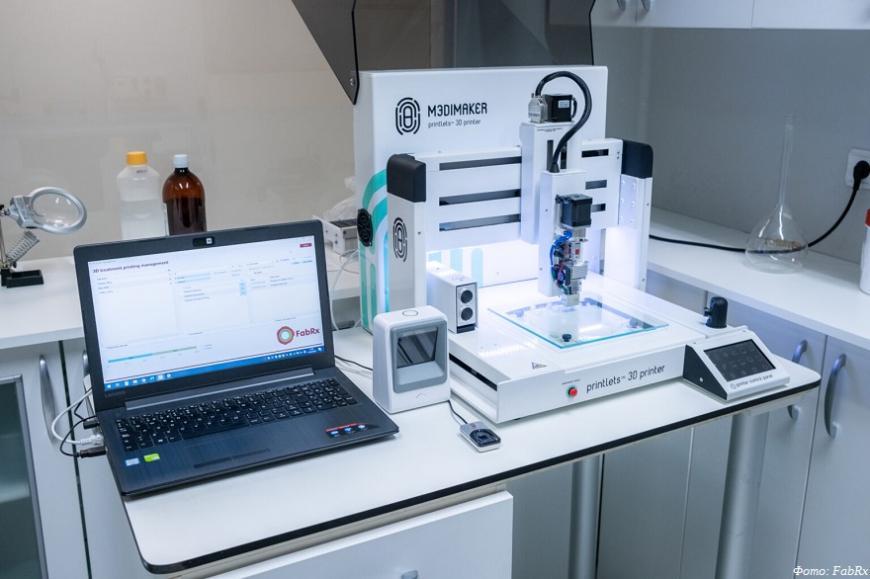 FabRx предлагает 3D-принтер для печати таблеток