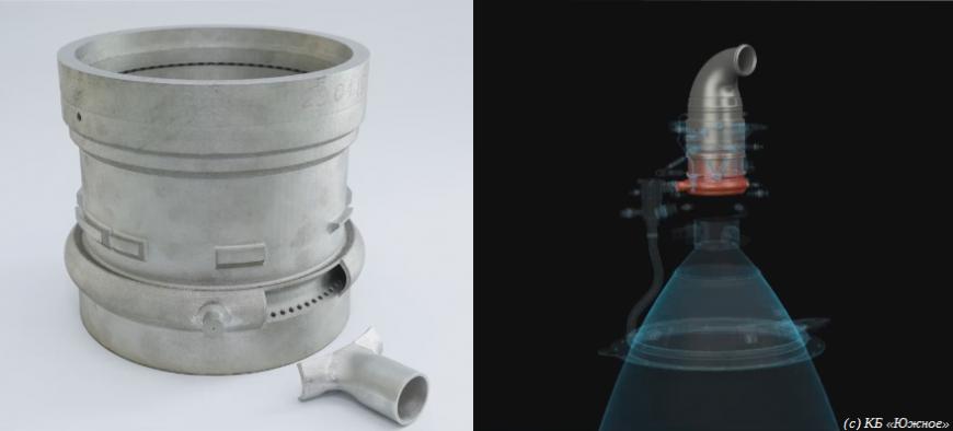 Украинские ракетчики изготовили двигатель с помощью 3D-принтера