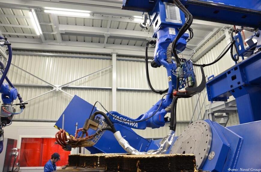 Французские корабелы установили 3D-печатный гребной винт на тральщик