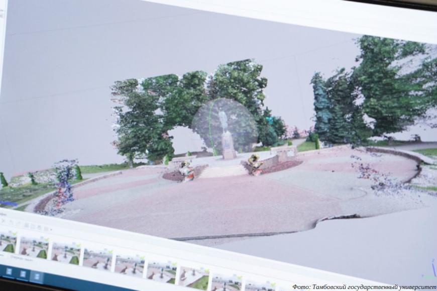 Тамбовский государственный университет создает выставку 3D-моделей военно-исторических объектов