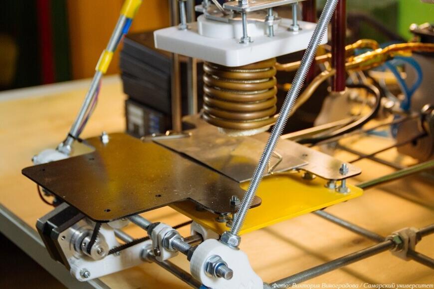Самарский студент разрабатывает 3D-принтер «по металлу» с индукционным нагревом