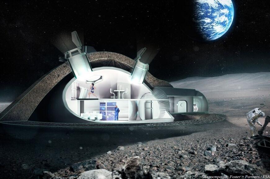 3D-печать как основа для колонизации Луны