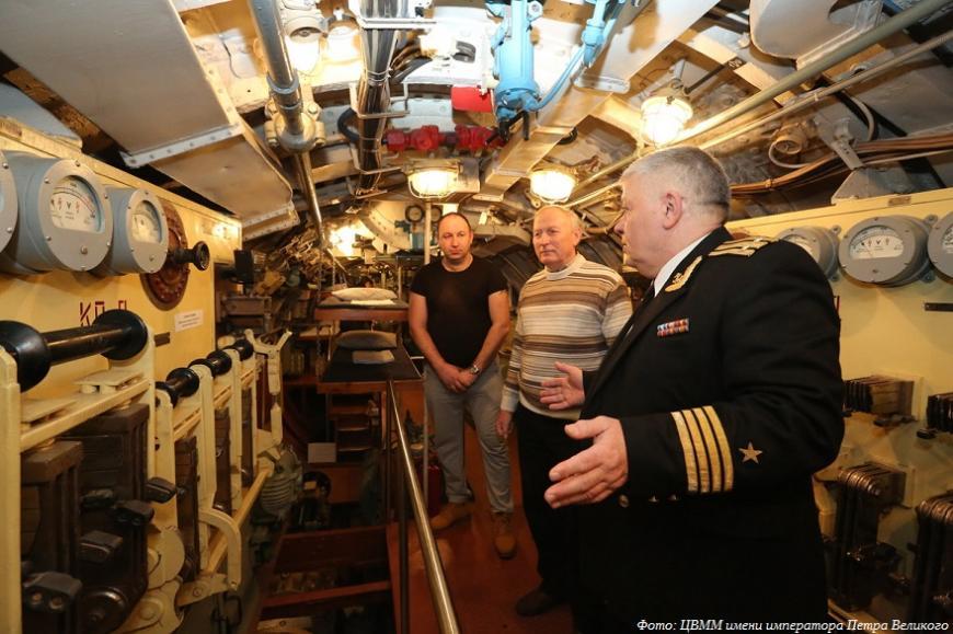 Военно-морской музей в Петербурге выставит более ста 3D-печатных моделей подводных лодок