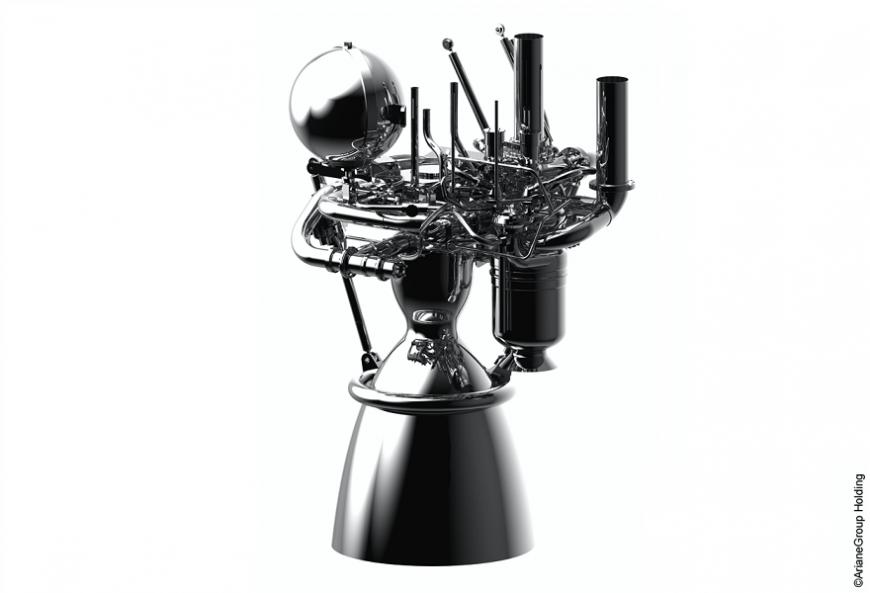 ArianeGroup испытала 3D-печатную камеру сгорания перспективного ракетного двигателя