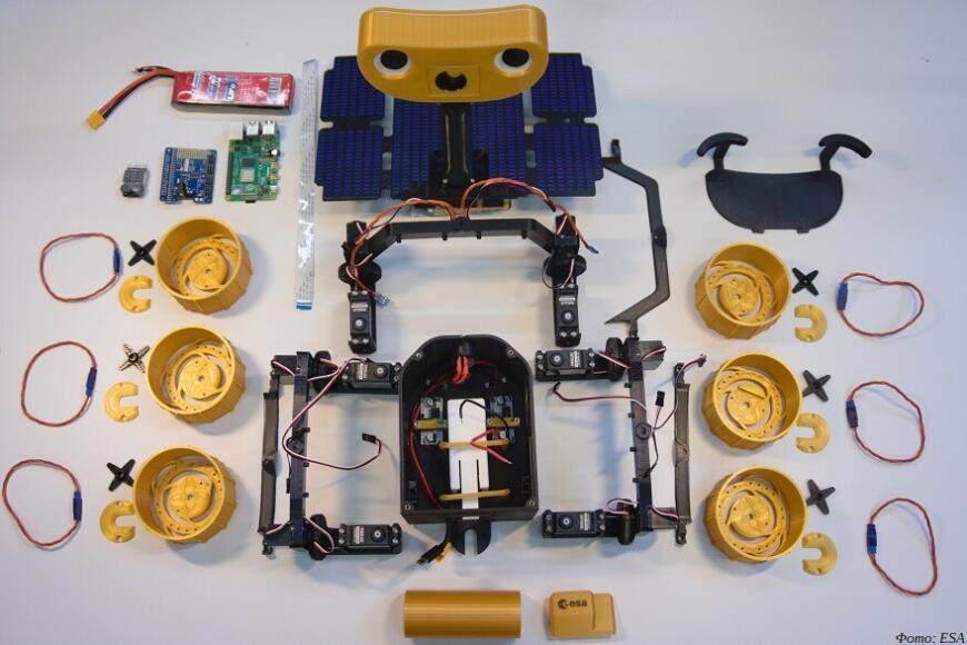 модель марсохода ExoMars - напечатать сам и добавь пару деталей.