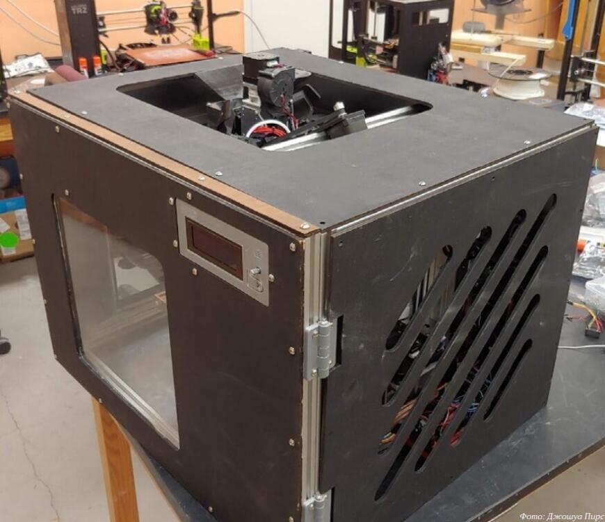 Cerberus: самодельный 3D-принтер для печати тугоплавкими пластиками