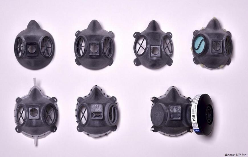 Технологии 3D-печати HP помогают бороться с коронавирусом