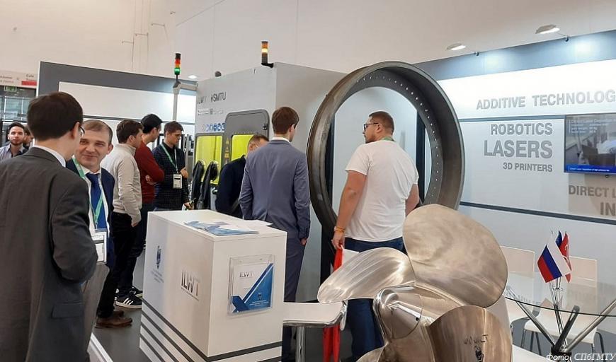 Корабелка презентовала 3D-принтер для печати металлами на выставке Formnext-2019