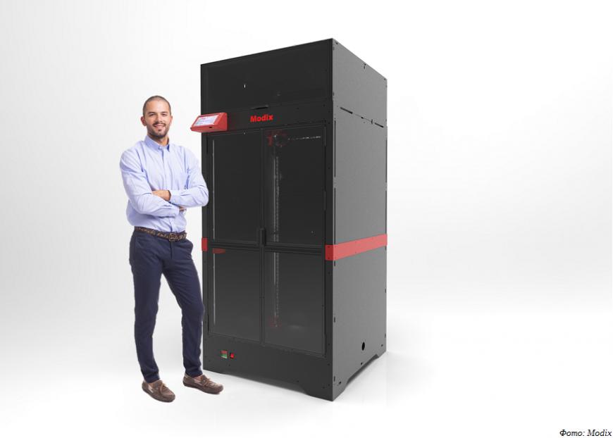 Modix предлагает крупноформатные FDM 3D-принтеры Big-120Z