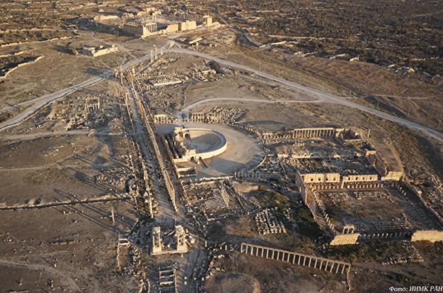 Институт истории материальной культуры РАН передал сирийским властям 3D-модель разрушенной Пальмиры