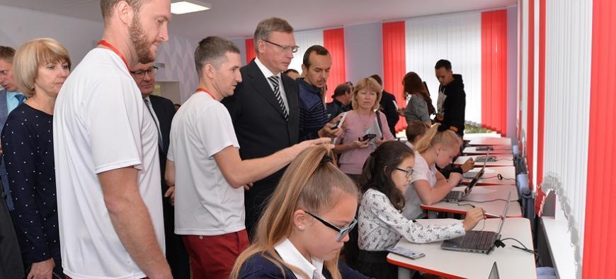 В Омской области открылись центры «Точка роста»