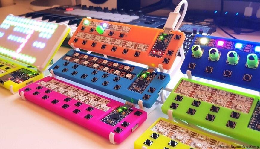 LEET: самодельный синтезатор с 3D-печатными MIDI-контроллерами