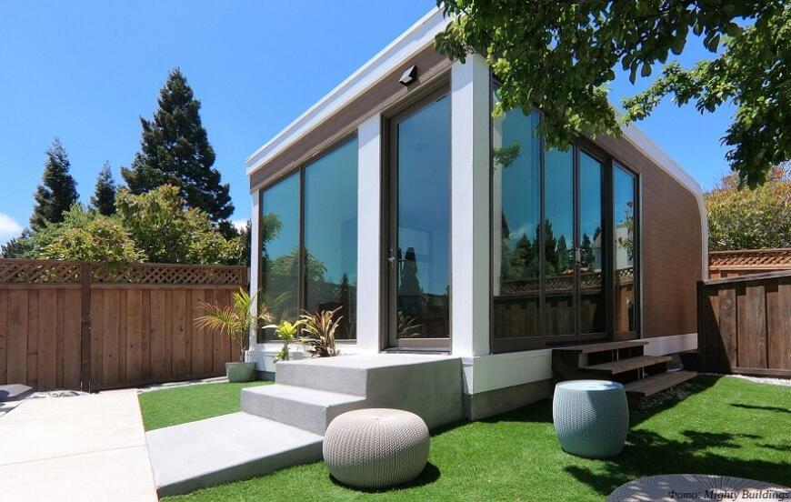 Компания Mighty Buildings предлагает 3D-печатные дома по собственной технологии
