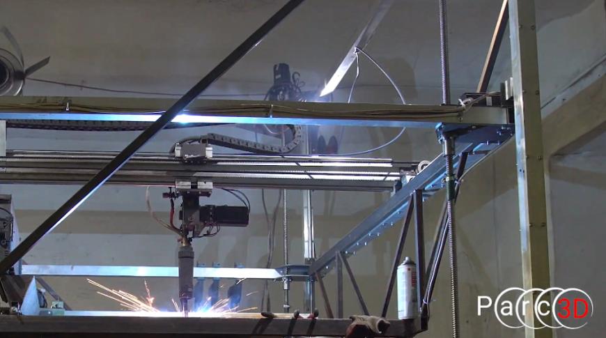 Нижегородские умельцы создали металлические скульптуры на 3D-принтере собственной конструкции