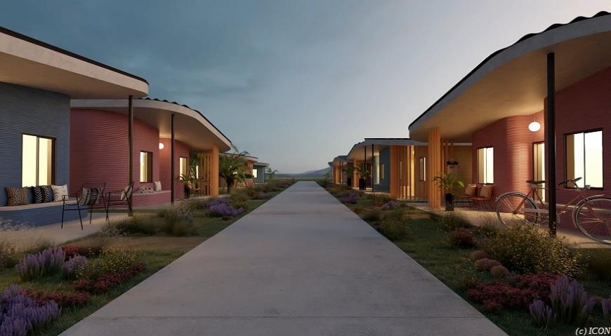 Техасский поселок обзаведется несколькими 3D-печатными домами