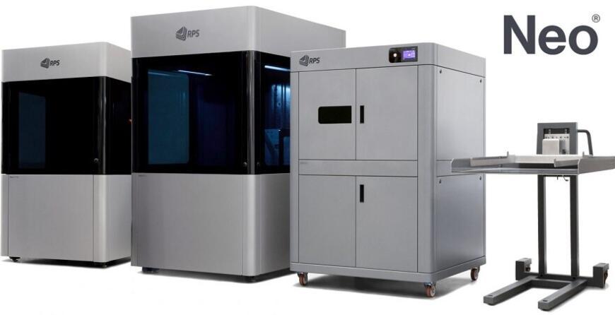 RPS выпустила лазерные стереолитографические 3D-принтеры Neo450e и Neo450s