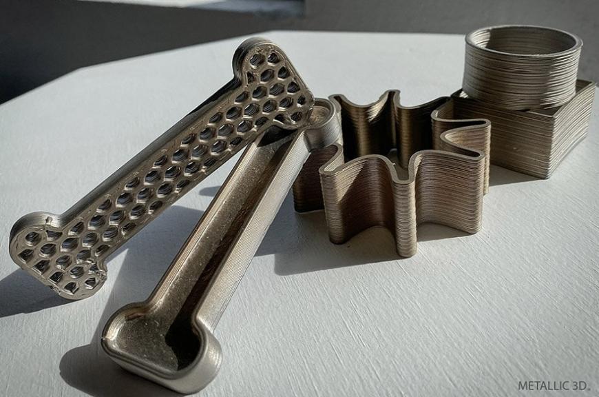 Metallic3D предлагает 3D-принтер для печати воском с металлическим наполнителем