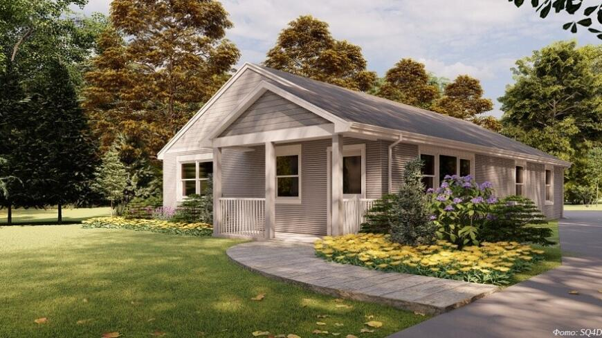 В США выставили на продажу 3D-печатный дом за $300 000