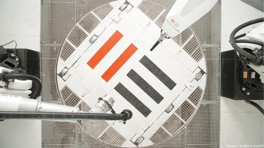 Компания Aeditive продвигает технологию 3D-печати железобетонных конструкций торкретированием