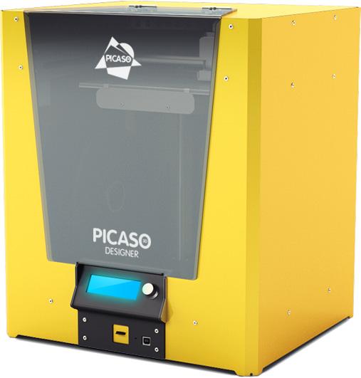 3d принтер picaso designer с закрытым