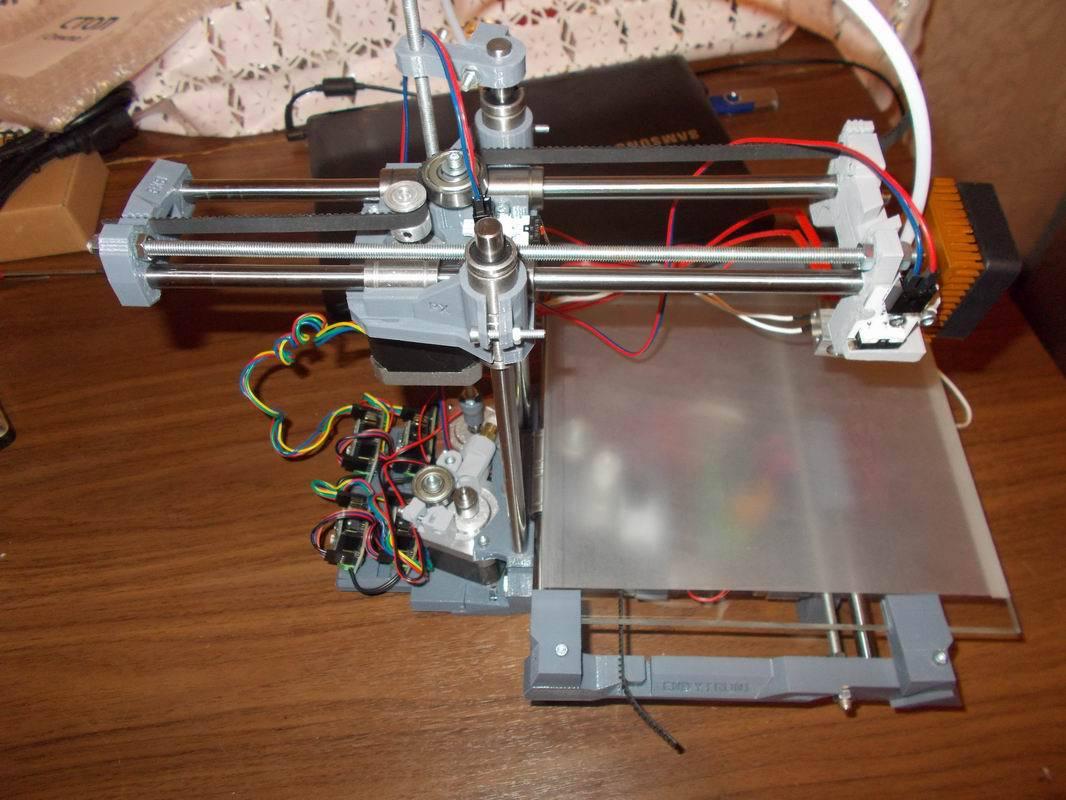 Как сделать 3д принтер своими руками