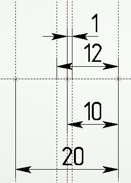 Указать размеры на рисунке