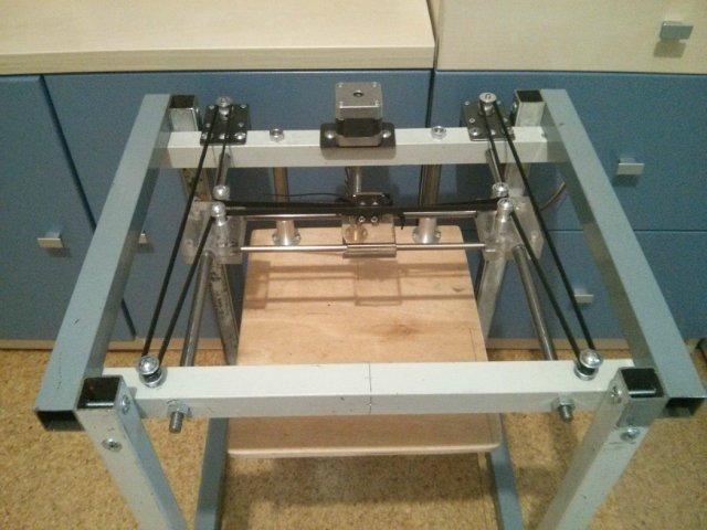H-bot 3d принтер каркас делаем своими руками 98