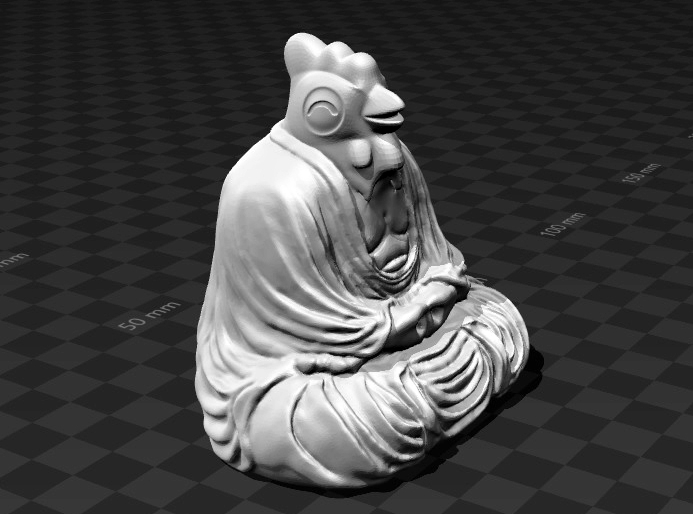 Rooster - Buddha