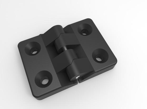 3D Модель Осевого Вентилятора