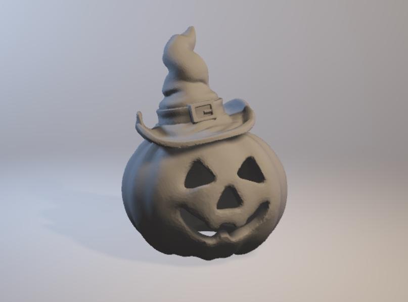 3d модель Halloween Pumpkin для 3d принтера - скачать ...