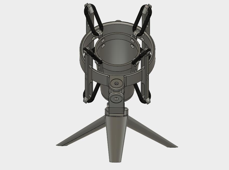 настольная подставка под микрофон