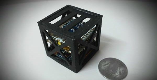Молодой гений изИндии собрал самый небольшой вмире спутник