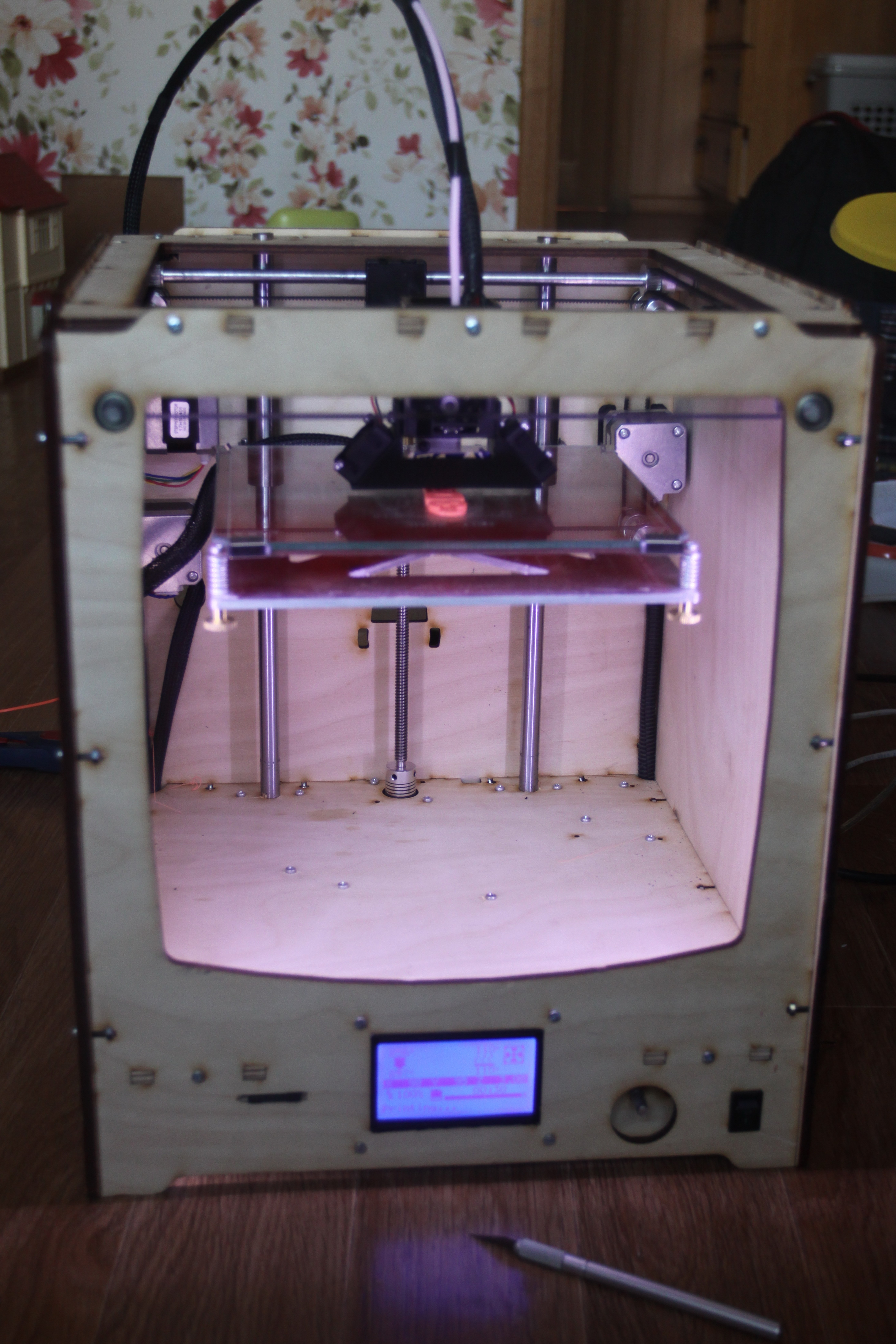 Как дома собрать 3d принтер