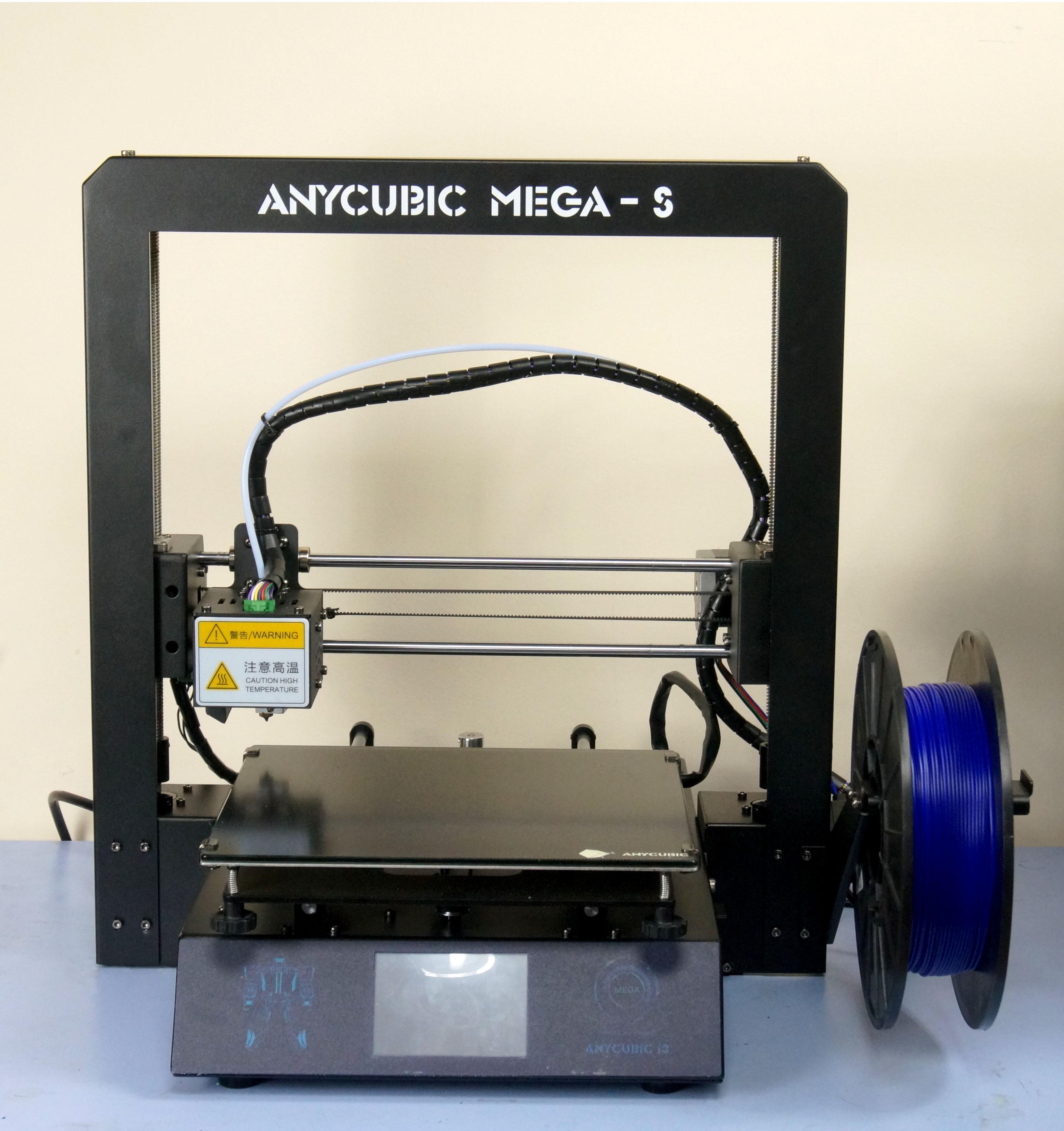 Обзор 3D принтера Anycubic i3 Mega S