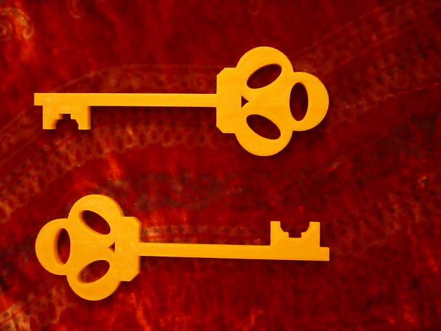 Как сделать золотой ключик 85