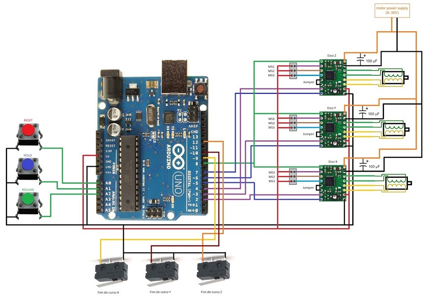 принципиальная электрическая схема лазерного принтера