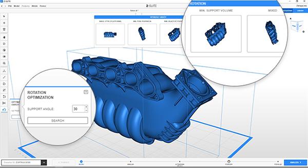 Компания Zortrax обновила программное обеспечение Z-SUITE до версии 2.8.0