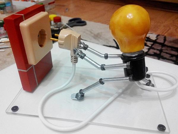 Креативный подарок электрику 72