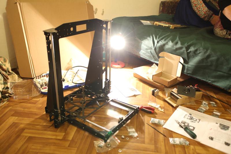 инструкция по сборке Prusa I3 Steel - фото 9
