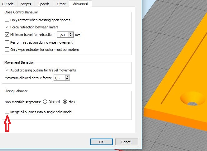 Simplify3d ошибки при подготовке к печати