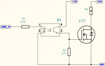 Схема включения транзисторов мосфет