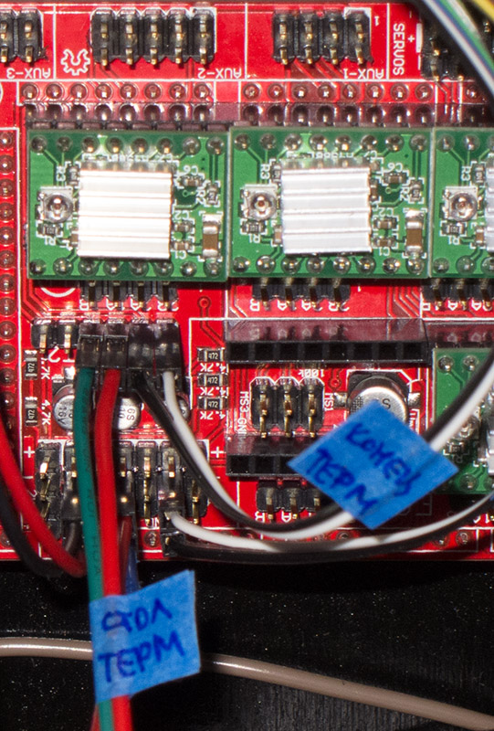 подключение термисторов