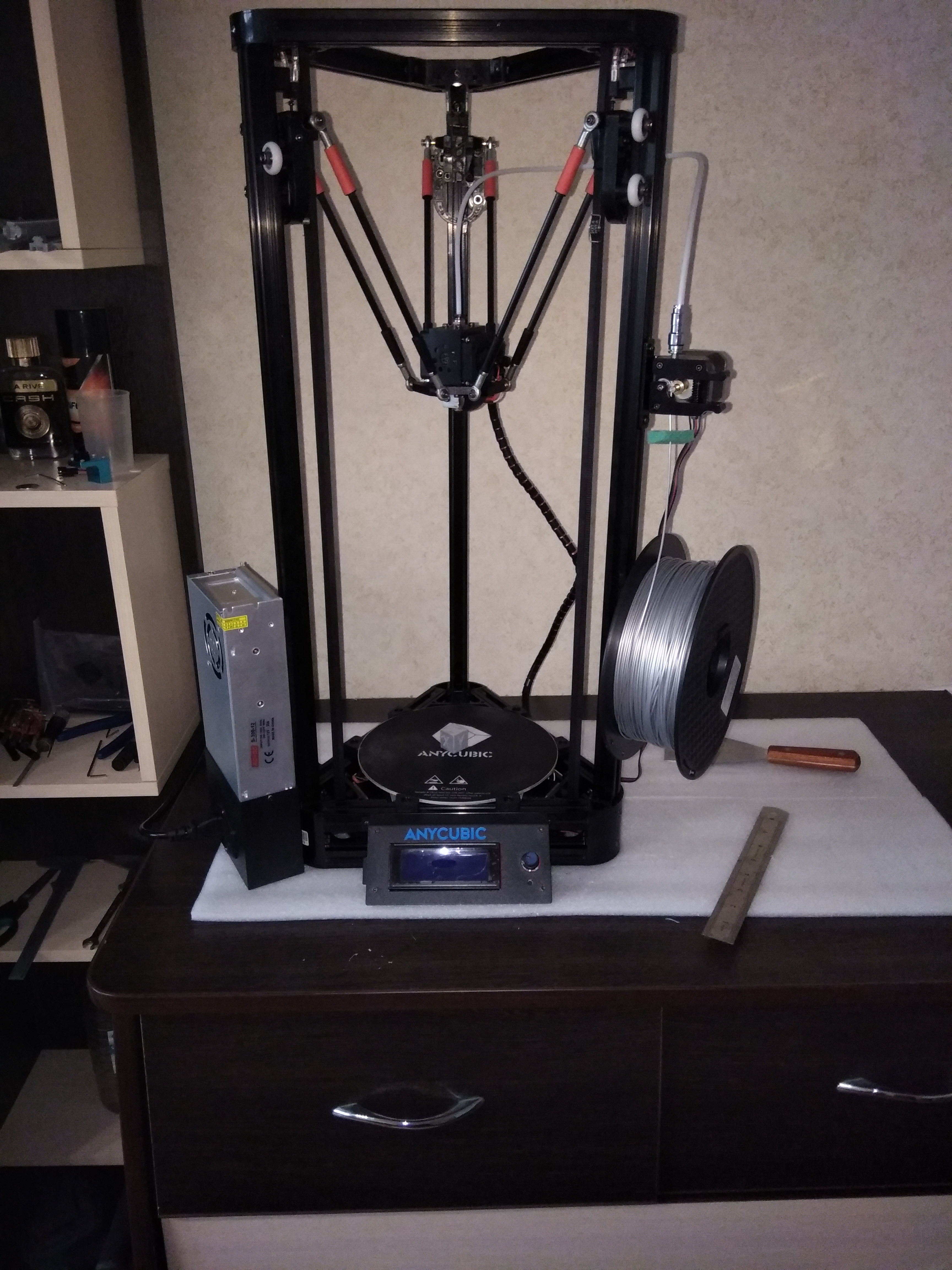Точная настройка дельта принтера anycubic kossel на прошивке