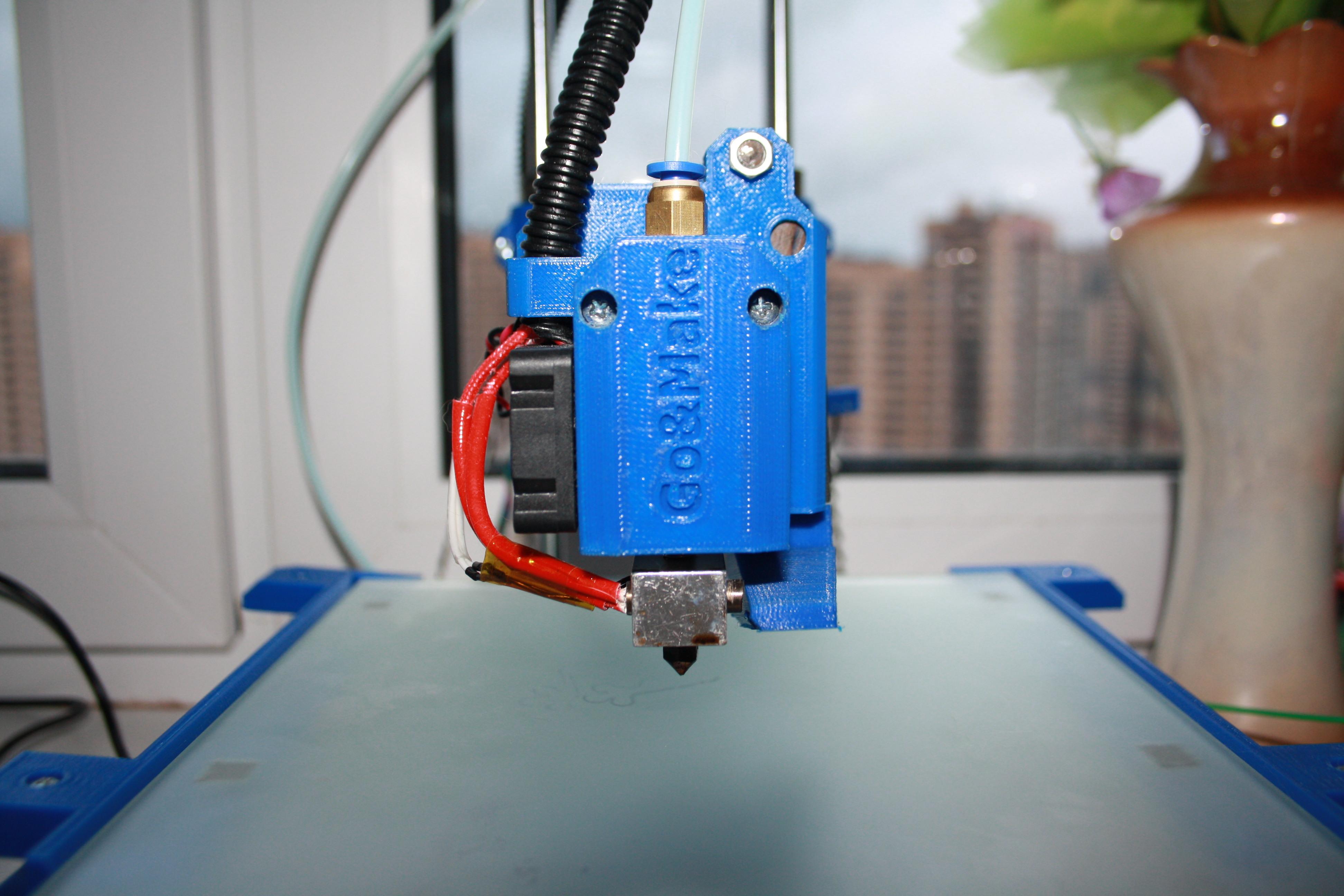 Экструдер для прутка для 3d принтера
