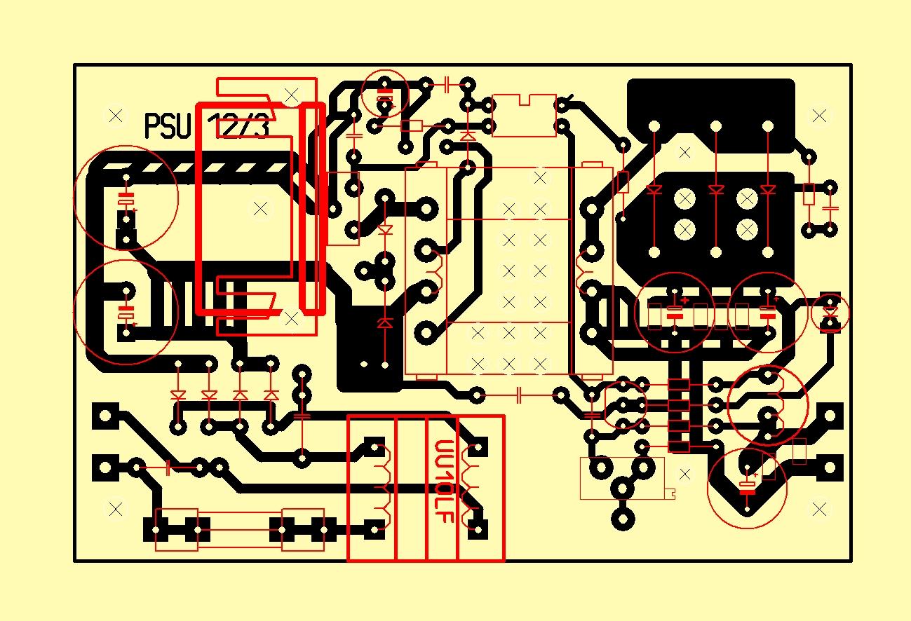 Схема импульсного блок питания 12 вольт 5 ампер