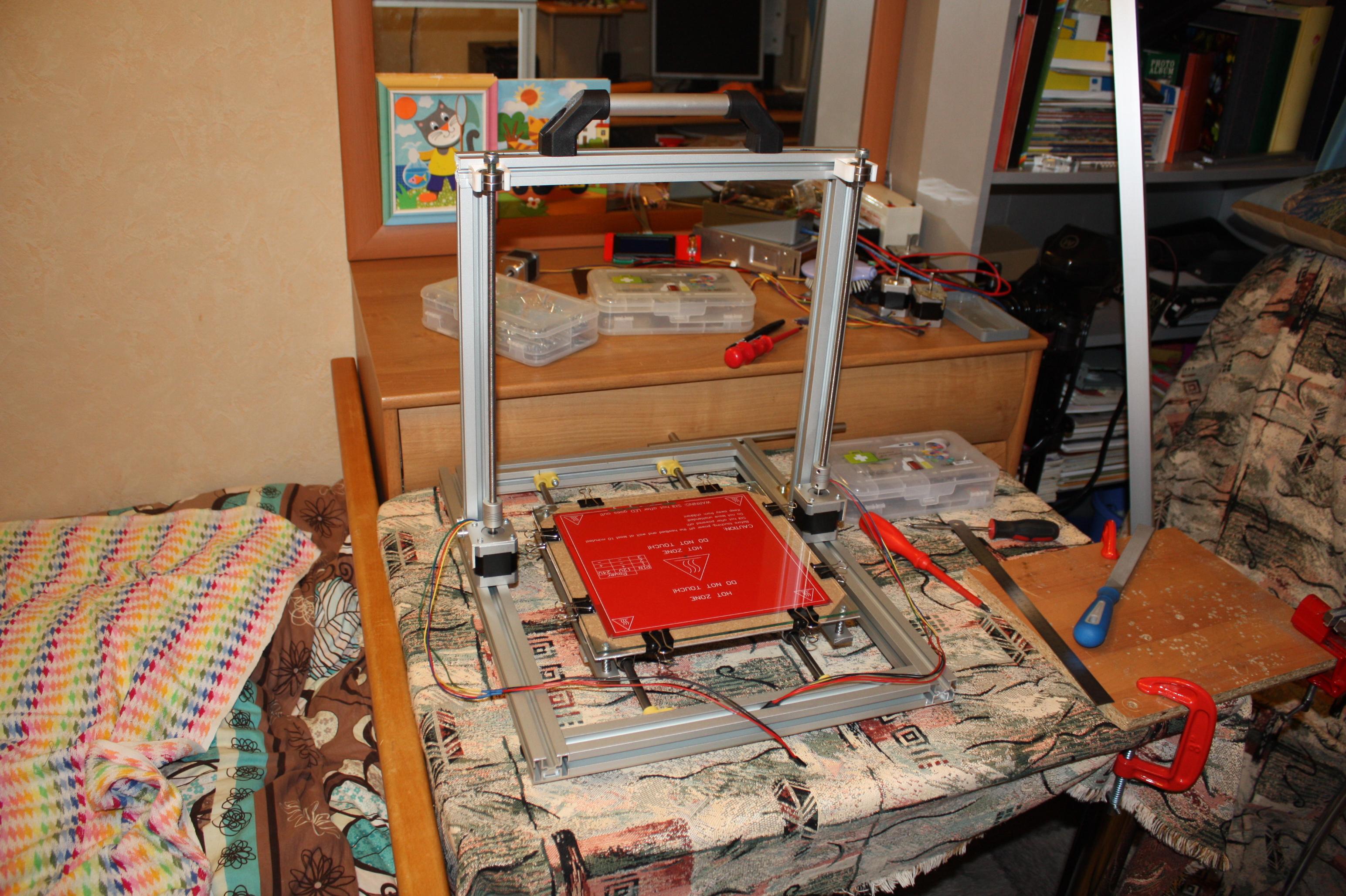 Самодельный принтер своими руками