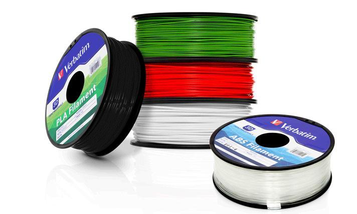 Verbatim на рынке расходных материалов для 3D-принтеров! Теперь и в нашем магазине!